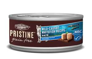 Castor & Pollux Pristine Grain Free Wild-Caught Whitefish Recipe Pate