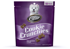 Cesar Cookie Crunchies Filet Mignon Flavor