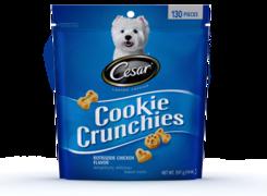 Cesar Cookie Crunchies Rotisserie Chicken Flavor