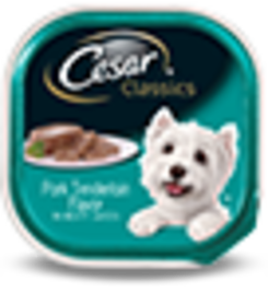 Cesar Original Pate Pork Tenderloin Flavor In Meaty Juices