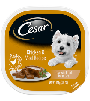 Cesar Original Pate With Chicken and Veal in Meaty Juices