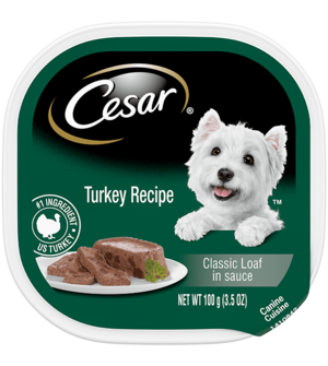 Cesar Classics With Turkey In Meaty Juices