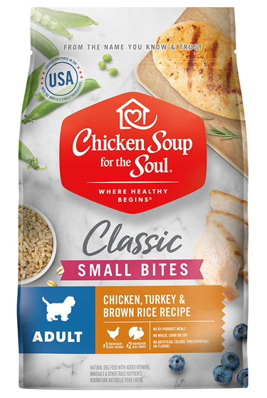 Chicken Soup For The Soul Dry Dog Food Adult Small Bites