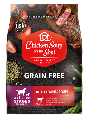 Chicken Soup For The Soul Grain Free Beef and Legumes Recipe