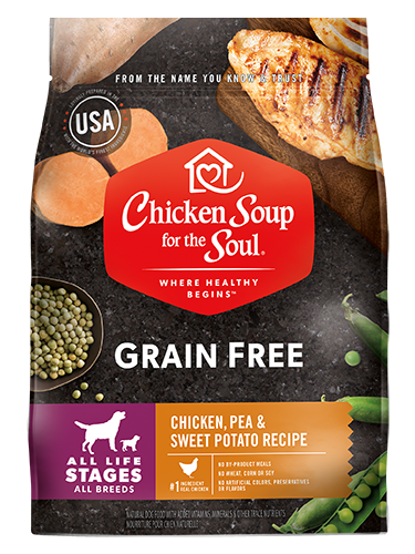Chicken Soup For The Soul Grain Free Chicken, Turkey, Pea & Sweet Potato Recipe