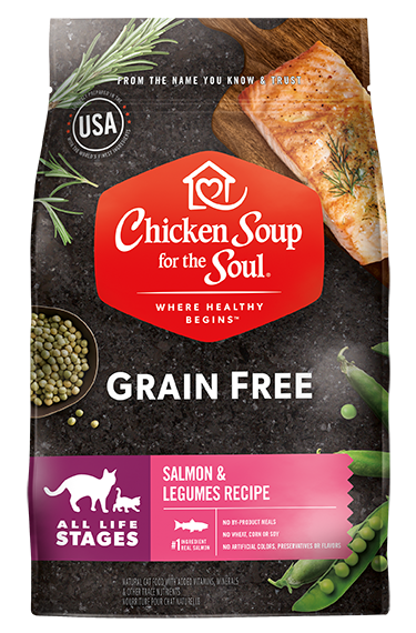 Chicken Soup For The Soul Grain Free Salmon and Legumes Recipe