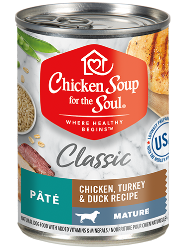 Chicken Soup For The Soul Wet Dog Food Mature Recipe