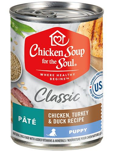 Chicken Soup For The Soul Wet Dog Food Puppy Recipe
