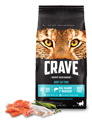Crave Adult Dry Cat Food With Protein From Salmon & Ocean Fish