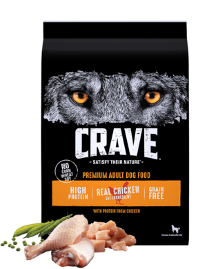 Crave Dry Dog Food With Protein From Chicken
