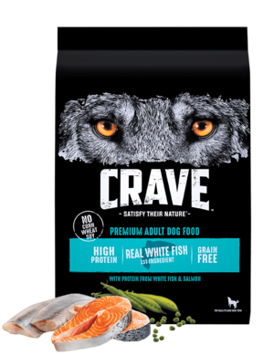Crave Dry Dog Food With Protein From Salmon & Ocean Fish