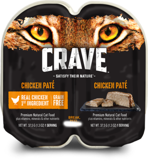 Crave Wet Cat Food Grain Free Chicken Pate
