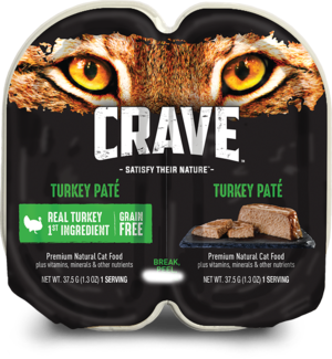 Crave Wet Cat Food Grain Free Turkey Pate