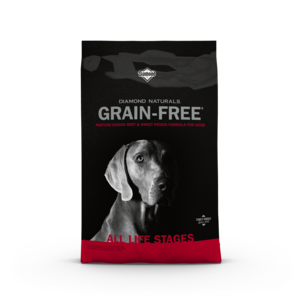 Diamond Naturals Grain Free Beef & Sweet Potato Formula For Dogs