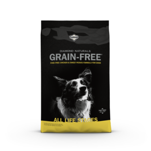 Diamond Naturals Grain Free Cage-Free Chicken & Sweet Potato Formula For Dogs