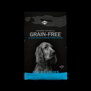 Diamond Naturals Grain Free Wild-Caught Whitefish & Sweet Potato Formula For Dogs