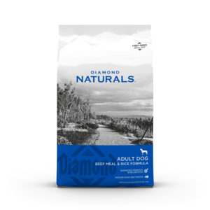 Diamond Naturals Beef Meal & Rice Formula For Adult Dogs