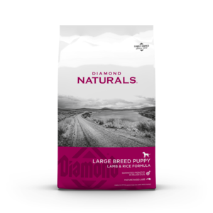 Diamond Naturals Large Breed Puppy Lamb, Rice & Vegetable Formula