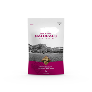 Diamond Naturals Puppy Biscuits With Chicken Meal