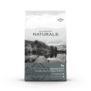 Diamond Naturals Senior Dog Chicken, Egg & Oatmeal Formula