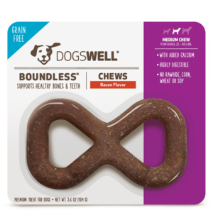 Dogswell Boundless Chews Bacon Flavor