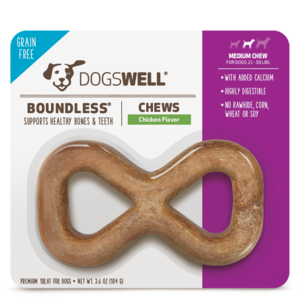 Dogswell Boundless Chews Chicken Flavor