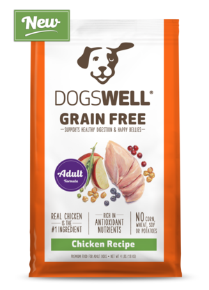 Dogswell Grain Free Chicken Recipe For Adult Dogs