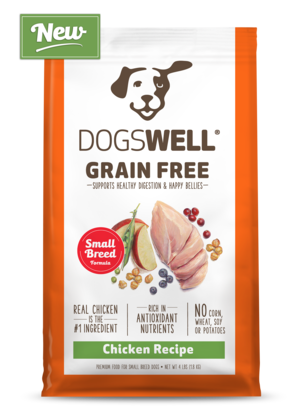 Dogswell Grain Free Chicken Recipe For Small Breed Dogs