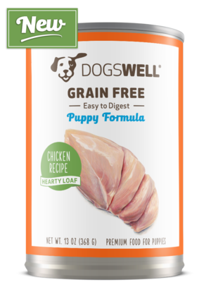 Dogswell Grain Free Chicken Recipe Hearty Loaf Puppy Formula
