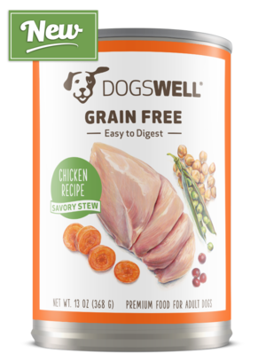 Dogswell Grain Free Chicken Recipe Savory Stew