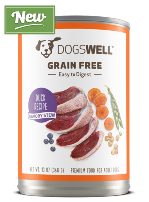Dogswell Grain Free Duck Recipe Savory Stew