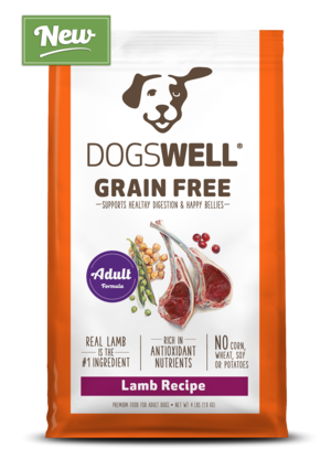 Dogswell Grain Free Lamb Recipe For Adult Dogs