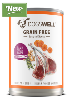 Dogswell Grain Free Lamb Recipe Savory Stew