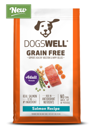 Dogswell Grain Free Salmon Recipe For Adult Dogs