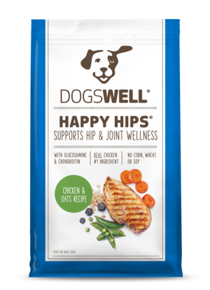 Dogswell Happy Hips Chicken & Oats Recipe