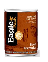 Eagle Pack Natural Dog Food (Canned) Beef Formula