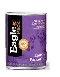 Eagle Pack Natural Dog Food (Canned) Lamb Formula