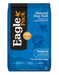 Eagle Pack Natural Dog Food Original Chicken & Pork Meal Formula
