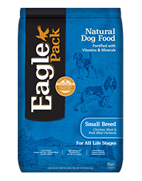 Eagle Pack Natural Dog Food Small Breed Chicken Meal & Pork Meal Formula