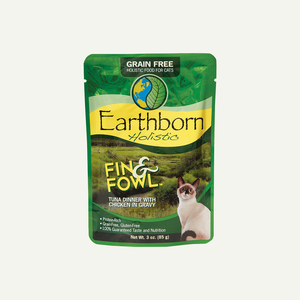 Earthborn Holistic Grain Free Pouch Fin & Fowl