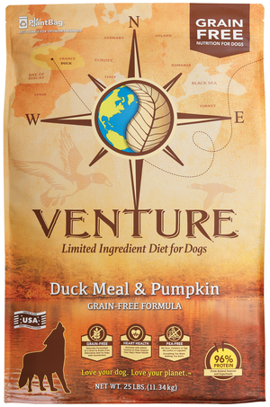Earthborn Holistic Venture Duck Meal & Pumpkin