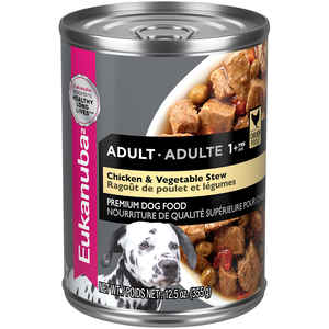 Eukanuba Canned Dog Food Chicken & Vegetable Stew For Adult Dogs