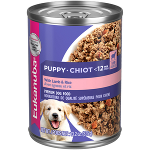 Eukanuba Canned Dog Food With Lamb & Rice For Puppies