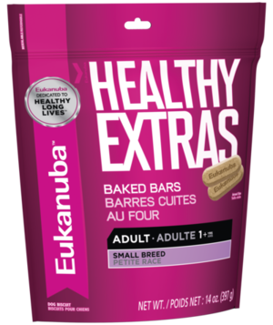 Eukanuba Healthy Extras Baked Bars For Small Breed Adult Dogs