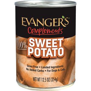 Evanger's Grain Free 100% Sweet Potato