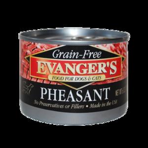 Evanger's Grain Free Pheasant