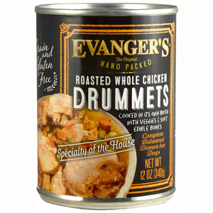 Evanger's Hand Packed Roasted Whole Chicken Drummets