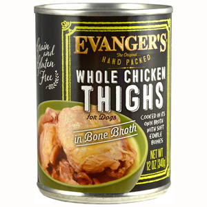 Evanger's Hand Packed Whole Chicken Thighs