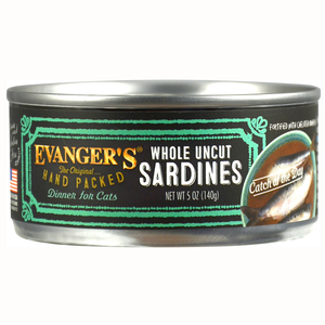 Evanger's Hand Packed Whole Uncut Sardines