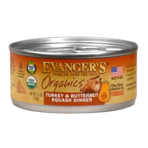 Evanger's Organics Turkey and Butternut Squash Dinner